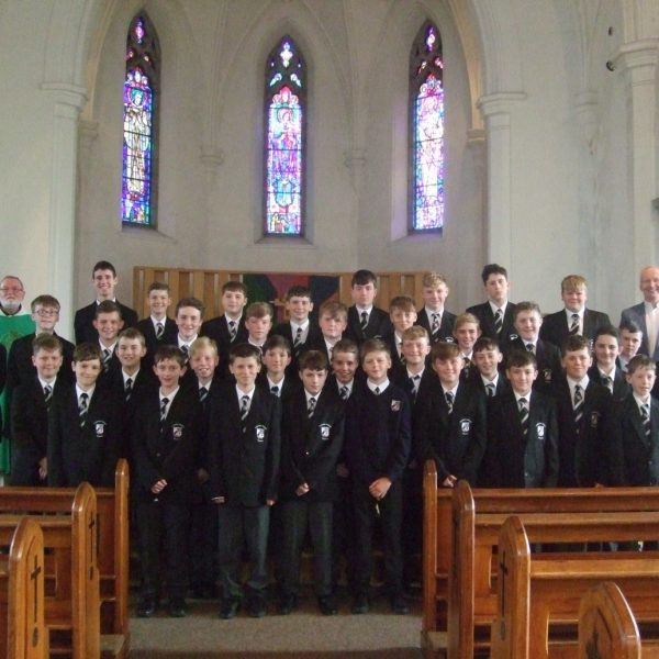 Cistercian Roscrea First Years mass